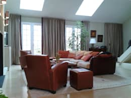 Franck Égard Décoration Intérieur: modern tarz Oturma Odası