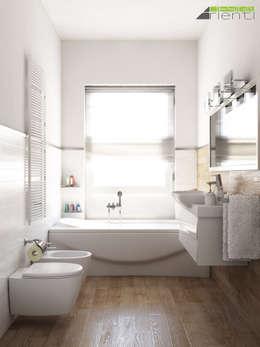 Casas de banho modernas por Arienti Design