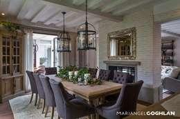 غرفة السفرة تنفيذ MARIANGEL COGHLAN