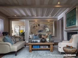 modern Living room by MARIANGEL COGHLAN