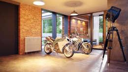 Garages de estilo ecléctico por Барнаш