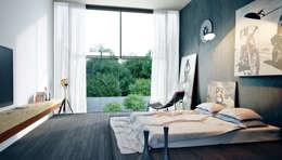 Projekty,  Sypialnia zaprojektowane przez Барнаш
