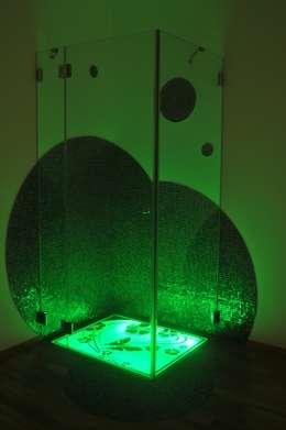 Doccia Cromo terapia  KARINA : Bagno in stile in stile Moderno di SILVERPLAT