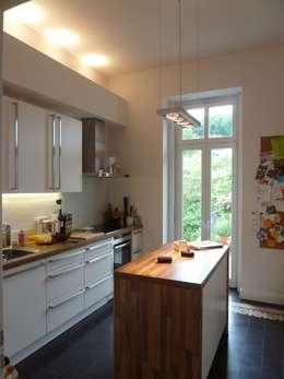 Projekty,  Kuchnia zaprojektowane przez waldorfplan architekten