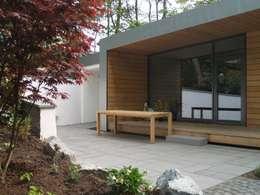 Projekty, nowoczesne Domy zaprojektowane przez Cousin Architekt - Ökotekt