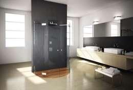 Die Dusche Als Star Des Raumes. Moderne Badezimmer Von SILVERPLAT