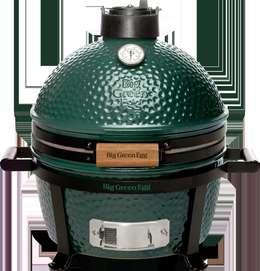 Barbecue Big Green Egg MINIMAX: Jardin de style de style eclectique par HABIAGUE
