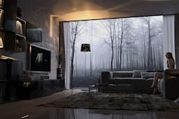 modern Living room by dellaschiava