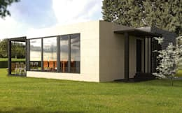 modern Houses by Casas Cube