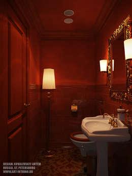 eclectische Badkamer door ART-INTERNO