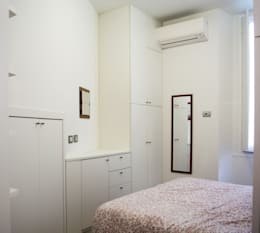 minimalistic Bedroom by Studio di architettura Miletta