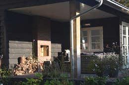 Veranda: landelijke Huizen door Boks architectuur