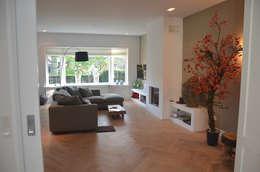 Woonruimte: moderne Woonkamer door Boks architectuur