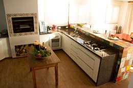 Cocinas de estilo rústico de Espaço do Traço arquitetura