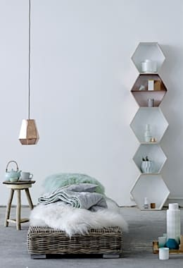 scandinavian Bedroom by iDecorate Ltd