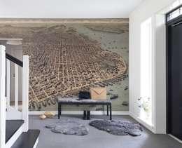 Projekty,  Ściany i podłogi zaprojektowane przez Rebel Walls Russia
