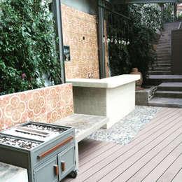Terrazas de estilo  por Quinto Distrito Arquitectura