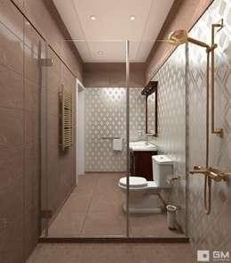 colonial Bathroom by GM-interior