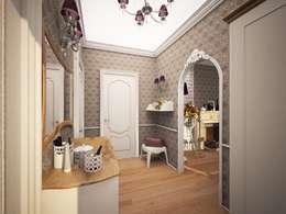 1-но комнатная квартира 61.15m²: Коридор и прихожая в . Автор – PLANiUM
