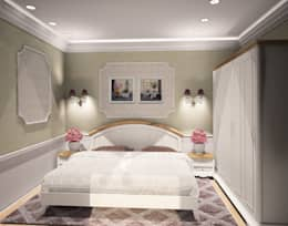 1-но комнатная квартира 61.15m²: Спальни в . Автор – PLANiUM