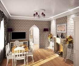 1-но комнатная квартира 61.15m²: Кухни в . Автор – PLANiUM