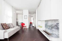 minimalistic Living room by Francesco Pierazzi Architects