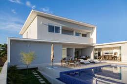 Terrazas de estilo  por SAA_SHIEH ARQUITETOS ASSOCIADOS