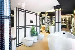 Kazuo Suite- Casa Decor 2015: Baños de estilo asiático de Egue y Seta