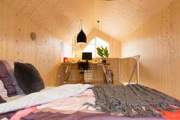 Heijmans ONE: minimalistische Slaapkamer door MoodBuilders