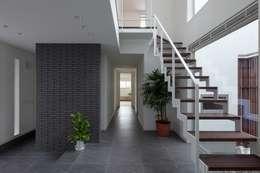 Corridor, hallway by LITTLE NEST WORKS