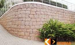Muren door Estância Pedras