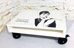 Stolik kawowy Audrey/ Audrey coffee table 60x80: styl , w kategorii Salon zaprojektowany przez Tailormade Furniture