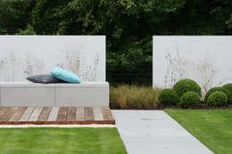 Lounge tuin: moderne Tuin door Tuinarchitectengroep ECO