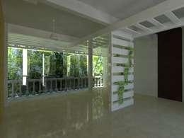 JRK Diseño - Studio Arquitectura의  벽