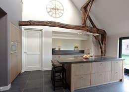 Eiken Design: klasieke Keuken door Thijs van de Wouw keuken- en interieurbouw