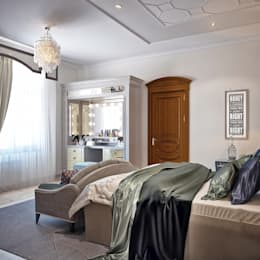 modern Bedroom by Sweet Home Design