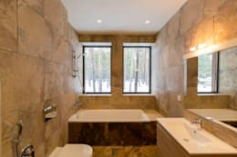 GoodLife Park дом №2: Ванные комнаты в . Автор – TSEH Architectural Group