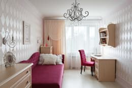 квартира 142 м.кв.: Детские комнаты в . Автор – Соловьева Мария