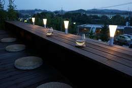 富士山テラス: 松岡淳建築設計事務所が手掛けた庭です。
