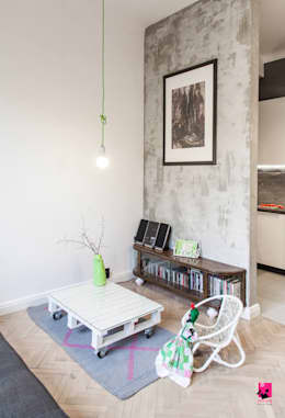 eclectic Living room by Pink Pug Design Interior