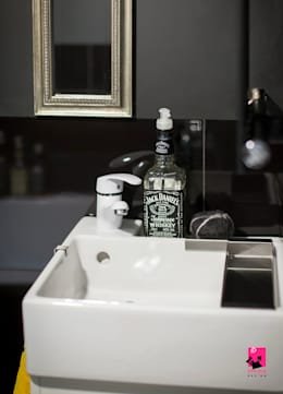 eclectic Bathroom by Pink Pug Design Interior