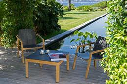 Ensemble bas TEKURA: Jardin de style de style Moderne par Les Jardins