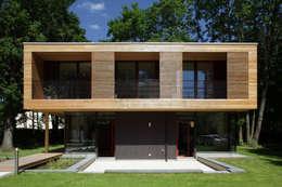 Экодома в . Автор – ArchitekturWerkstatt Vallentin GmbH