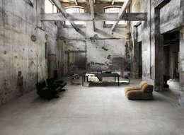 Стены и пол в . Автор – Ceramica Sant'Agostino