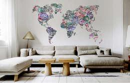 x interessante muurdecoratie, Meubels Ideeën
