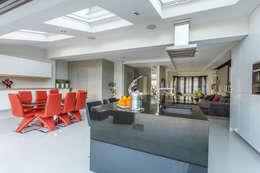 modern Kitchen by GK Architects Ltd