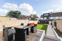 Jardín de estilo  por GK Architects Ltd