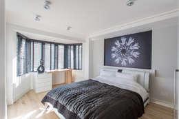 modern Bedroom by GK Architects Ltd