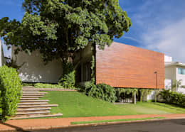 Casas de estilo moderno por Felipe Bueno Arquitetura