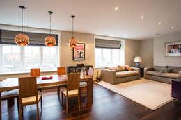modern Living room by GK Architects Ltd